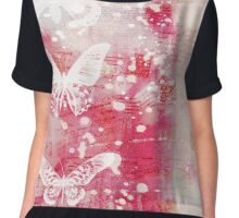 Butterfly digital print Chiffon Top