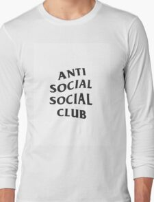 Anti Social Social Club Original Long Sleeve T-Shirt