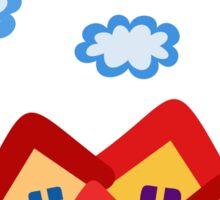 summer fairytale  illustration Sticker