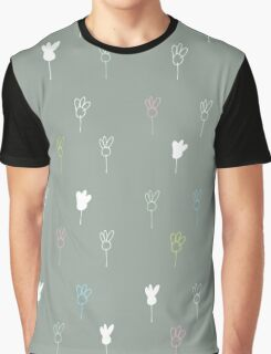 Chamomile on gray Graphic T-Shirt