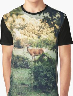 Lone Deer  Graphic T-Shirt