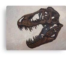 Tyrannosaurus skull Canvas Print