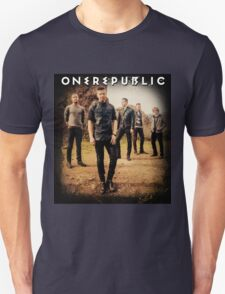 one republic personel black kasing Unisex T-Shirt