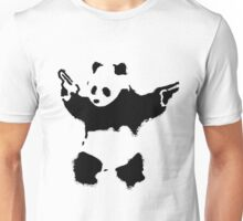 Banksy - Panda With Guns Unisex T-Shirt