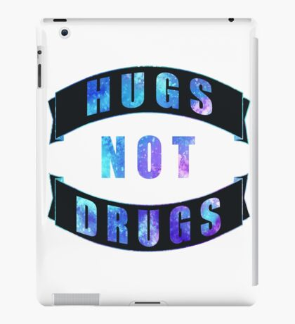 Hugs Not Drugs iPad Case/Skin