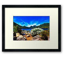 Cradle Mountain/Dove Lake, Tasmania Framed Print