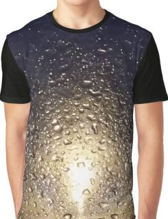 Rain Drops Graphic T-Shirt