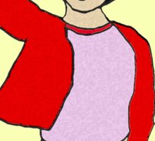 Sloan from the thin veiled bride Sticker