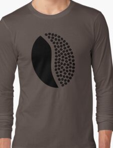 coffee bean beans Long Sleeve T-Shirt
