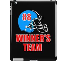 Football helmet iPad Case/Skin