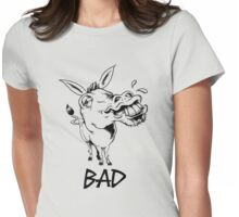 BAD ASS Donkey Womens Fitted T-Shirt