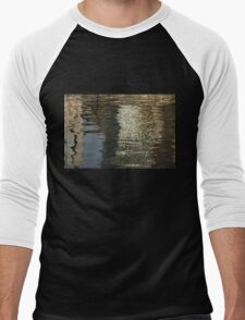 Satin, Silk and Moire Abstract Men's Baseball ¾ T-Shirt