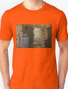 Satin, Silk and Moire Abstract T-Shirt