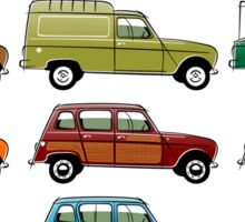 Renault 4 Sticker