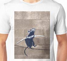 Banksy - Tightrope Rat Unisex T-Shirt