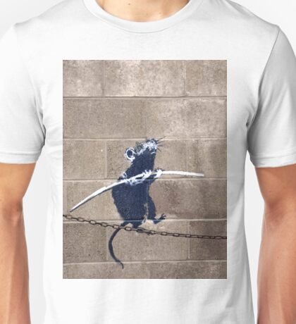 Banksy - Tightrope Rat Unisex T-Shirt