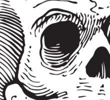 Skull & Cigar  Sticker