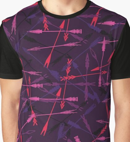 abstract ethnic arrow Graphic T-Shirt