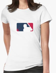 Negan Major League Womens Fitted T-Shirt