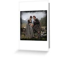 Outlander/Jamie & Claire Fraser Greeting Card