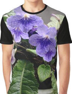 PURPLE FLOWERS COLLECTION Graphic T-Shirt