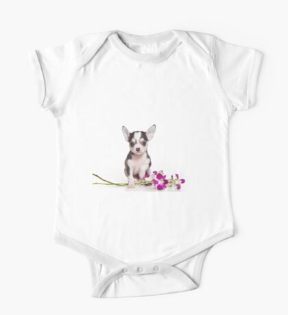 Glamorous chihuahua puppy dog cute One Piece - Short Sleeve