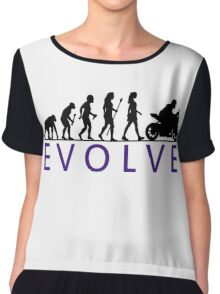 Women's Motorbike Evolution Chiffon Top