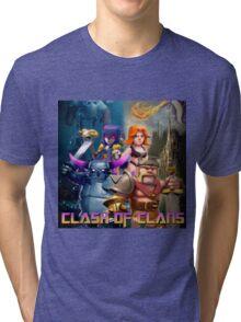 clash of clans movie 2016 nakula Tri-blend T-Shirt