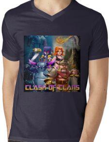 clash of clans movie 2016 nakula Mens V-Neck T-Shirt