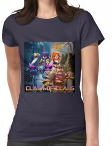 clash of clans movie 2016 nakula Womens Fitted T-Shirt