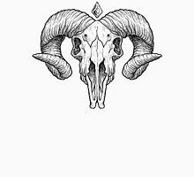 Illustrated Goat Skull - black Unisex T-Shirt