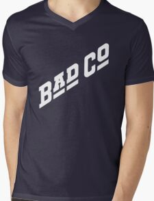 BAD CO COMPANY Mens V-Neck T-Shirt