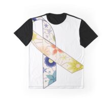 Blue and yellow ribbon vintage Graphic T-Shirt