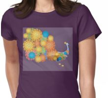 Festival of Dassehra and offering of Marigold Womens Fitted T-Shirt