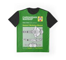 Haynes Manual - CARDASSIAN WARSHIP - T-shirt Graphic T-Shirt