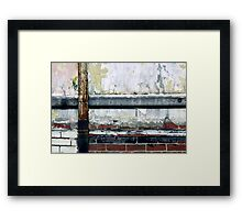 the wailing wall of peel Framed Print
