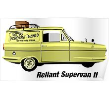 Reliant Regal Supervan from Only Fools and Horses Poster