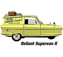 Reliant Regal Supervan from Only Fools and Horses Photographic Print