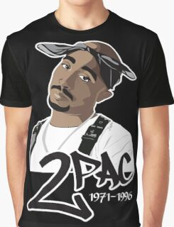 East Coast - West Coast Hip Hop rivalry, In Flamingo Road They Killed Me. Graphic T-Shirt
