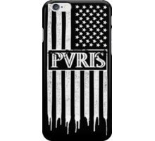 Band logo american flag drip design iPhone Case/Skin