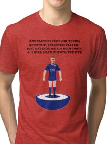 ANY FACE, ANY KIT SUBBUTEO PLAYER  Tri-blend T-Shirt