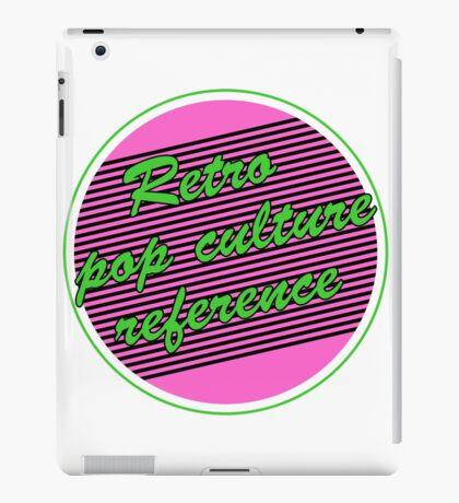 Retro Pop Culture Reference iPad Case/Skin