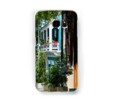 San Juan, Puerto Rico - Gorgeous Caribbean Colors and Flora Samsung Galaxy Case/Skin