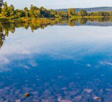 Lagoon Reflections Sticker