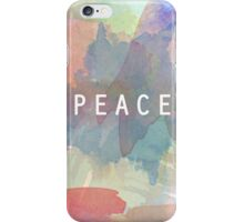 Watercolors Peace iPhone Case/Skin