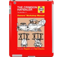 Haynes Manual - Crimson Haybaler - T-shirt iPad Case/Skin
