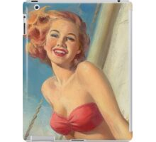 Pinup Sailor iPad Case/Skin