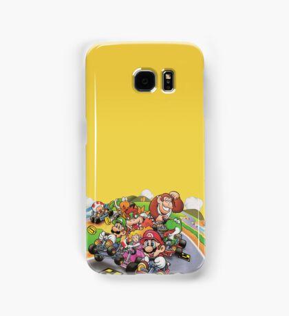 Mario Kart Extended illustration Samsung Galaxy Case/Skin