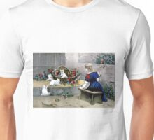 Frolicsome pets - 1856 - Currier & Ives Unisex T-Shirt