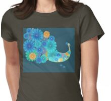 Festival of Dassehra and the offering of Marigold 2 Womens Fitted T-Shirt